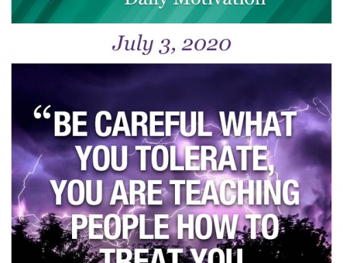 Outcome Thinking Daily Motivation | July 3, 2020
