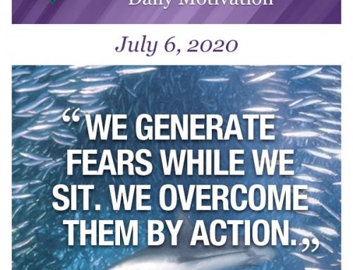 Outcome Thinking Daily Motivation | July 6, 2020