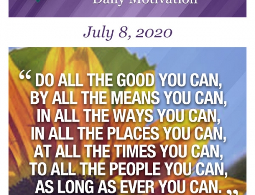 Outcome Thinking Daily Motivation | July 8, 2020