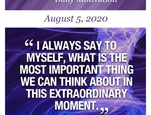 Outcome Thinking Daily Motivation | August 5, 2020