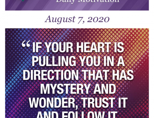 Outcome Thinking Daily Motivation   August 7, 2020