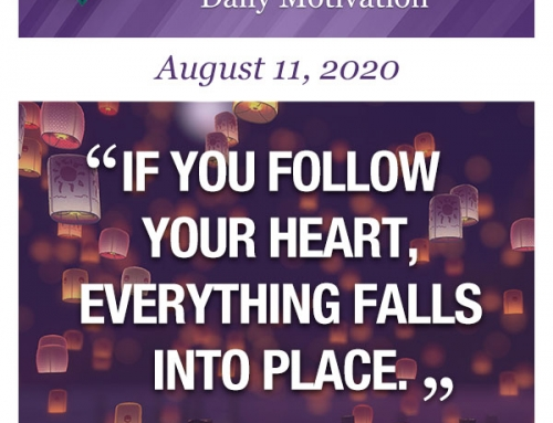 Outcome Thinking Daily Motivation | August 11, 2020