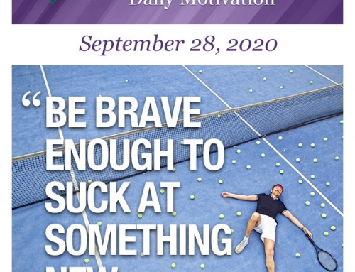 Outcome Thinking Daily Motivation | September 28, 2020