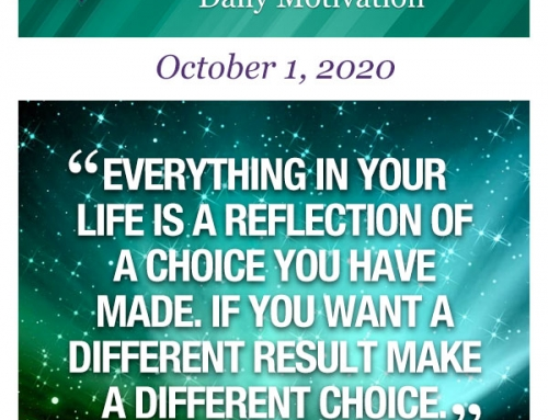 Outcome Thinking Daily Motivation | October 1, 2020