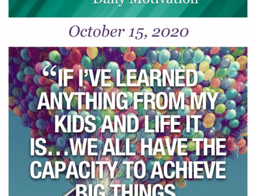 Outcome Thinking Daily Motivation | October 15, 2020