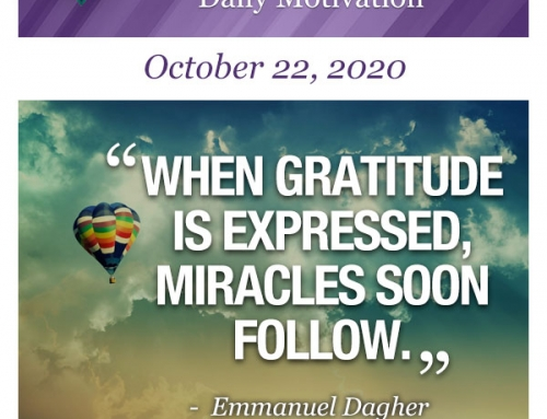 Outcome Thinking Daily Motivation | October 22, 2020