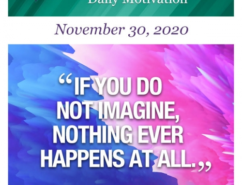 Outcome Thinking Daily Motivation | November 30, 2020