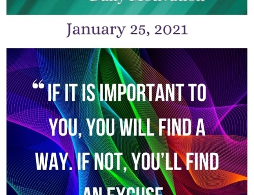 Outcome Thinking Daily Motivation | January 25, 2021