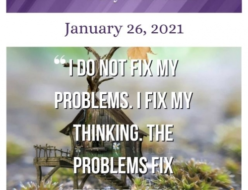 Outcome Thinking Daily Motivation | January 26, 2021