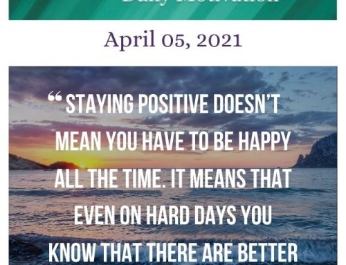 Outcome Thinking Daily Motivation | April 05, 2021