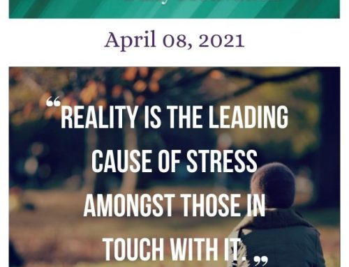 Outcome Thinking Daily Motivation | April 08, 2021
