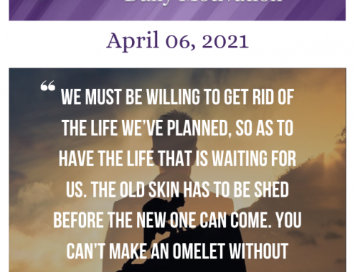 Outcome Thinking Daily Motivation | April 06, 2021