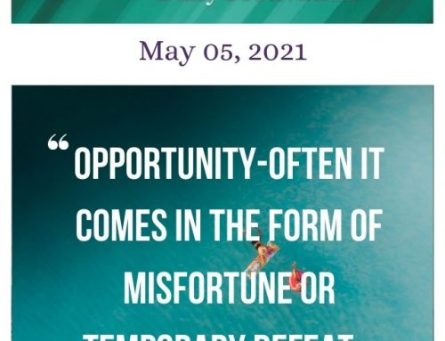 Outcome Thinking Daily Motivation | May 05, 2021