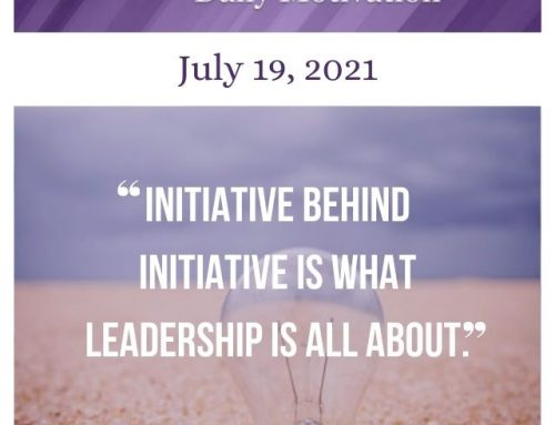 Outcome Thinking Daily Motivation | July 19, 2021