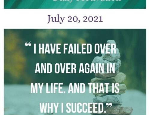 Outcome Thinking Daily Motivation | July 20, 2021