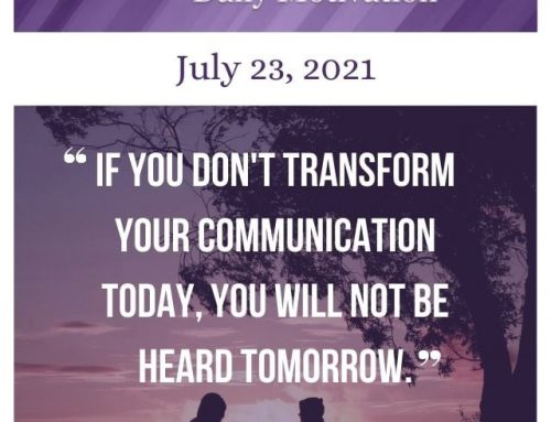 Outcome Thinking Daily Motivation | July 23, 2021