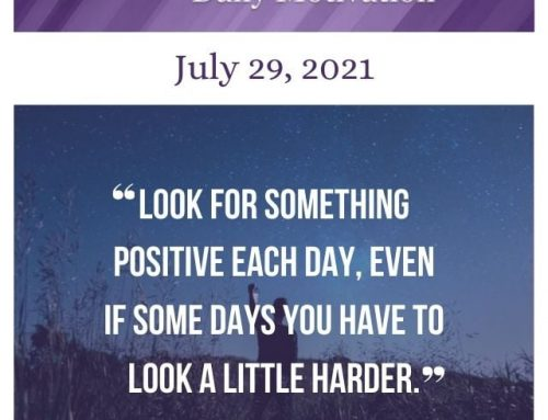 Outcome Thinking Daily Motivation | July 29, 2021