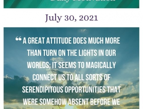Outcome Thinking Daily Motivation | July 30, 2021